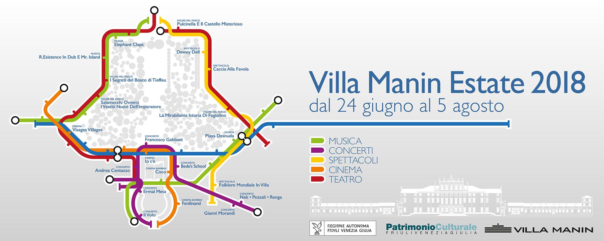 Villa Manin Estate 2018